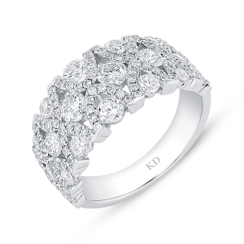 WHITE GOLD CONTEMPORARY DIAMOND RING