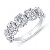 WHITE GOLD INSPIRED FASHION DIAMOND RING