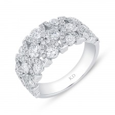WHITE GOLD CONTEMPORARY DIAMOND RING